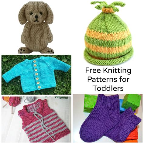 knitting free 7 sweet free knitting patterns for toddlers craftsy