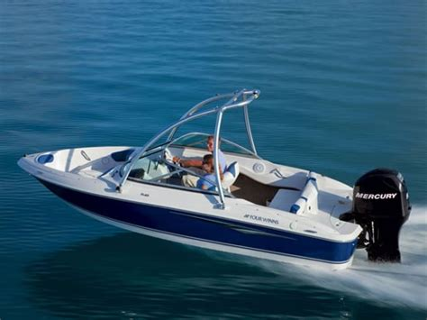 four winns boat enclosure 2011 four winns h180 ob bowrider boat review boatdealers ca