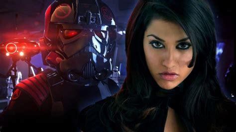 janina gavankar video games how janina gavankar became battlefront 2 s main anti hero