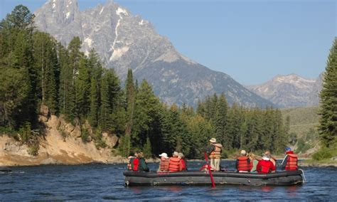 boat ride grand teton national park jackson hole wyoming scenic float trips smooth water
