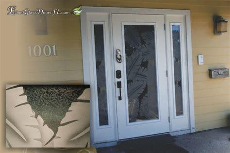 hurricane proof doors etched glass doors florida