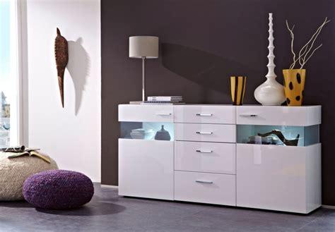 kommode weiß grau regal dekor wohnzimmer