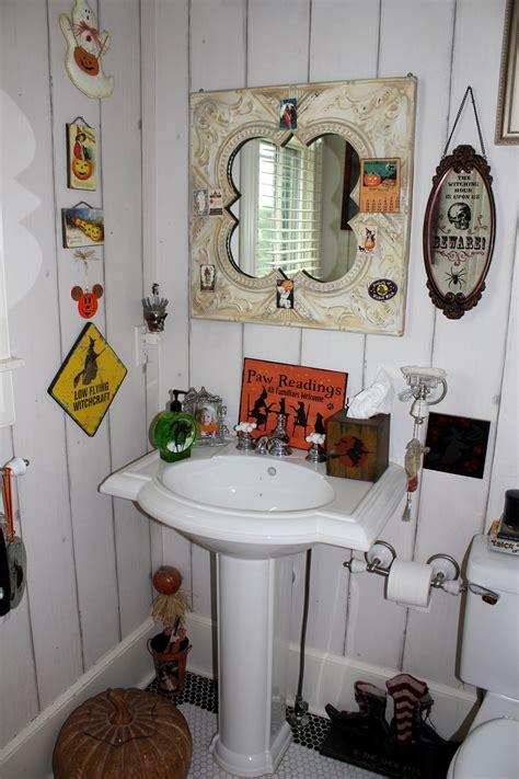 halloween bathroom joyful scribblings