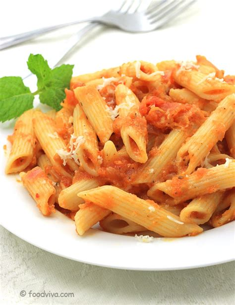how to make pasta in red sauce tomato pasta recipe with step by step photos pasta in