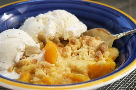 peach cobbler incredible edible peach cobbler e marijuana recipes
