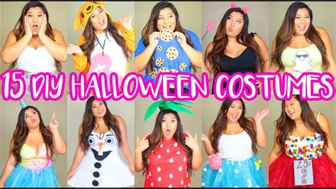 diy halloween costumes  minute cute easy youtube