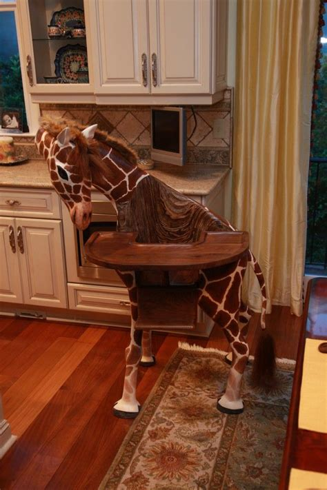giraffe high chair and the award for coolest high chair goes to pics