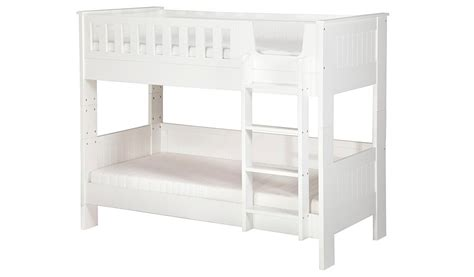 Asda Bunk Beds George Home Finley Detachable Bunk Bed White Beds George At Asda