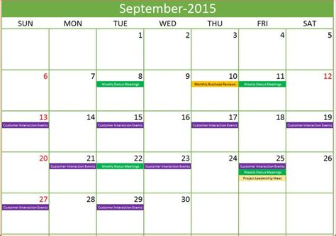 excel calendar template excel calendar    year excel calendar template event