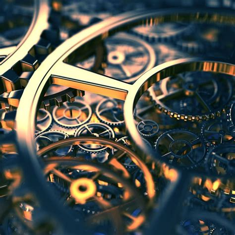 clock gears wallpapers weneedfun