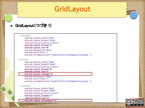 gridlayout layout gravity android uiデザイン入門