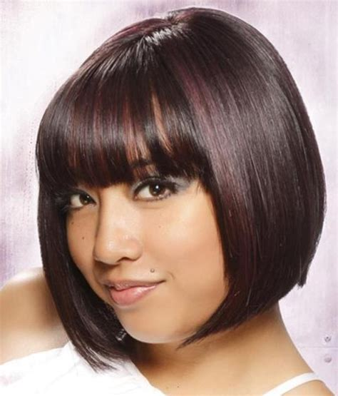 hairstyles with bangs african american 19 fine looking short hairstyles with bangs pictures and
