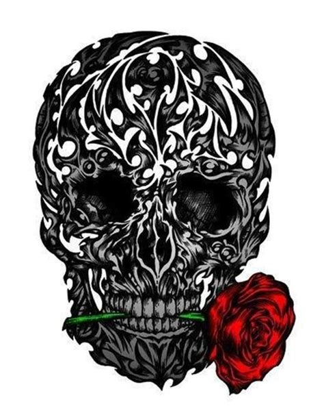 skull and rose tattoo design 50 cool skull tattoos designs designs and