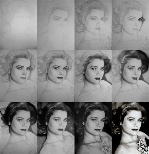 dibujos realistas tutorial sombreado en diferentes fases canal taringa