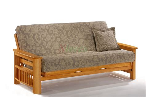 teak futon night and day portofino futon sofabed honey oak natural