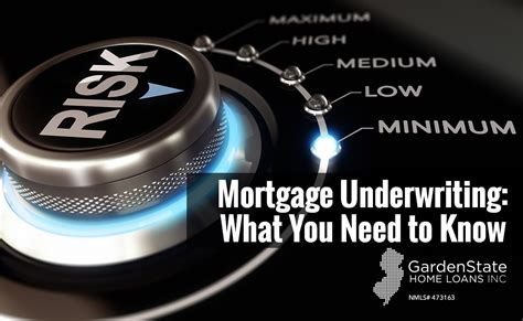 mortgage underwriting garden state home loans