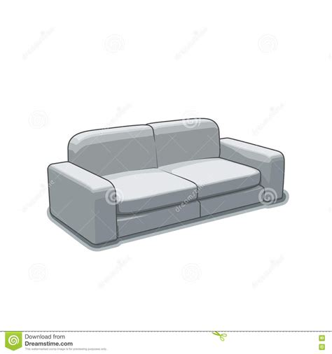 couch svg sofa or couch vector illustration stock vector image