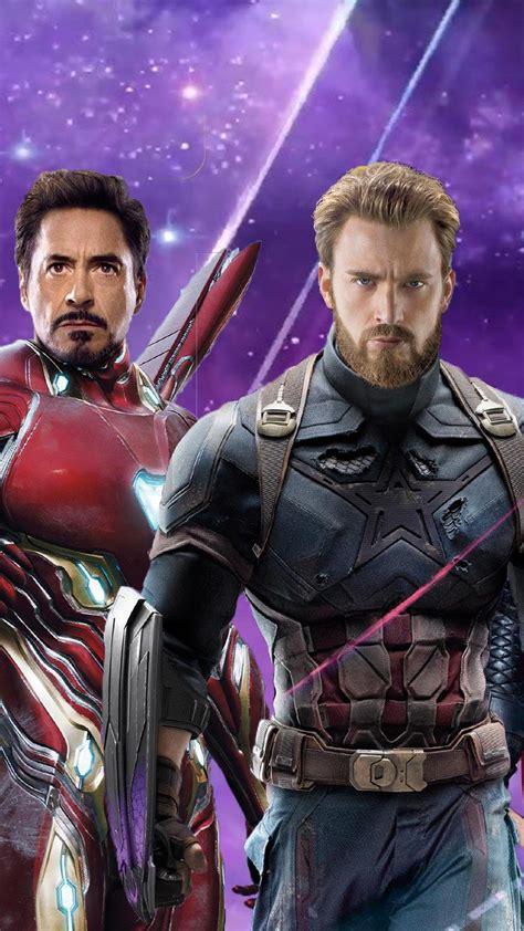 wallpaper galaxy s6 captain america iron man captain america thor in avengers infinity war