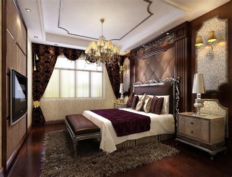 bedroom chandeliers  stunning classic interior atzinecom