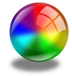 color sphere circle color circles sphere vector free psd