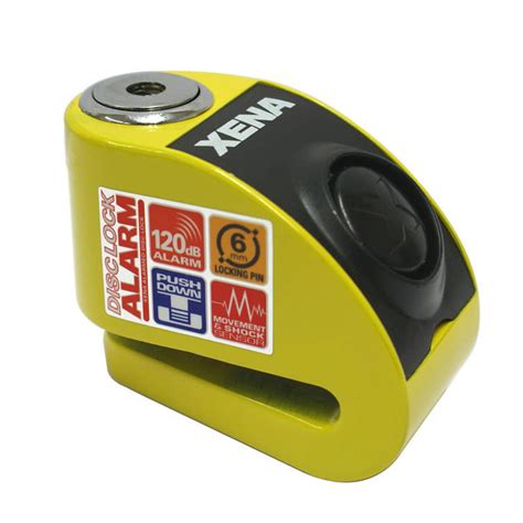 Alarm Xena xena xzz6 motorcycle disc lock alarm clearance