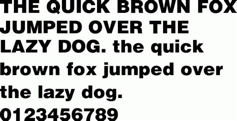 helvetica black  font