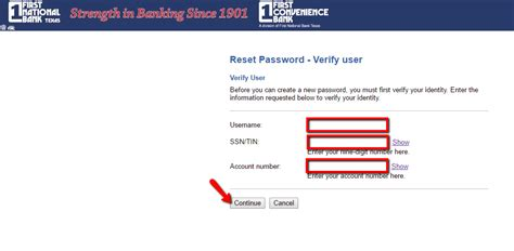 reset fnb online banking details first national bank texas online banking login cc bank