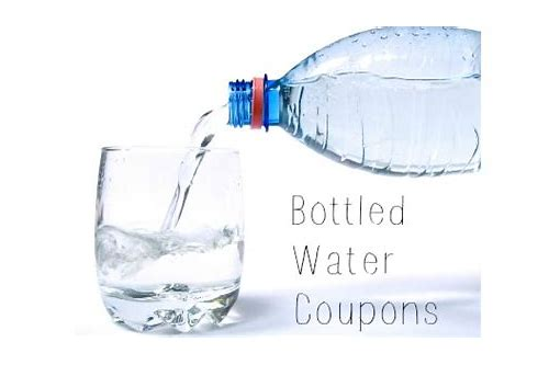 walmart coupons for bottled water