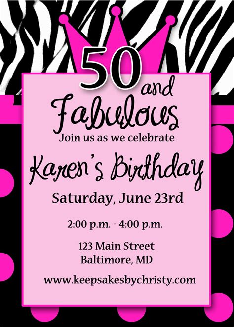 50th birthday invites free templates best 50th birthday invitations printable egreeting ecards