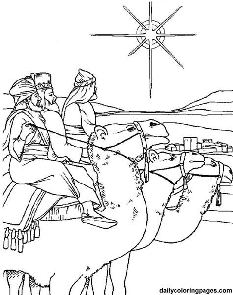 Christian Christmas Coloring Pages For Kids Coloring Home Wise Coloring Pages