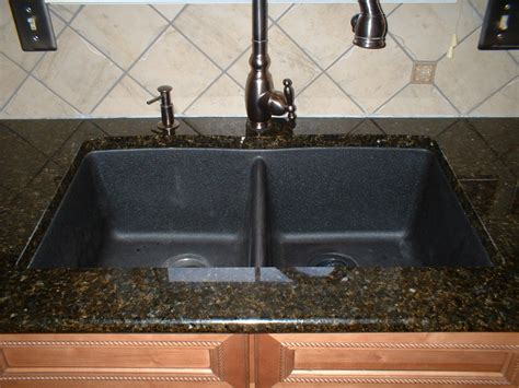 granite kitchen sinks the solid surface and stone countertop repair blog