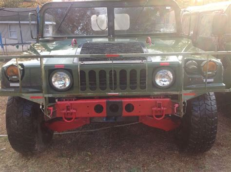 Original Army Humvee 1987 Hummer H1 Converible Monster For