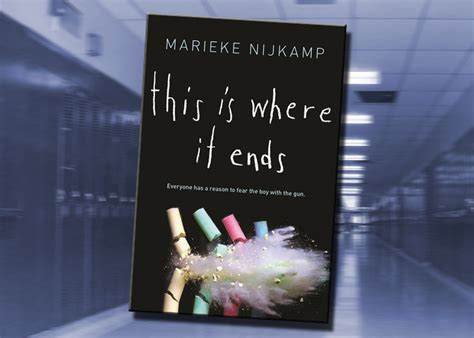 this is how it ends books this is where it ends by marieke nijk youth culture