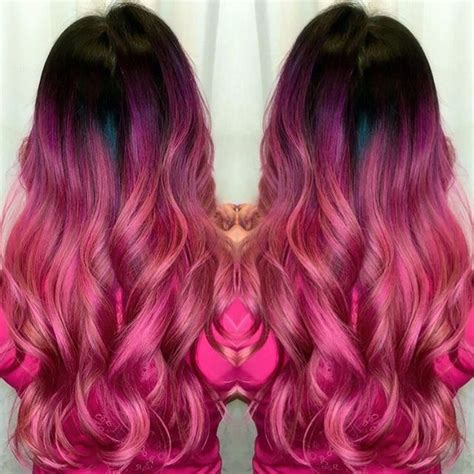 Black And Pink Hairstyles by Pink Hair 966 Free Hair Color Pictures