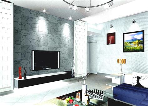 living room tv wall design india interior with modern