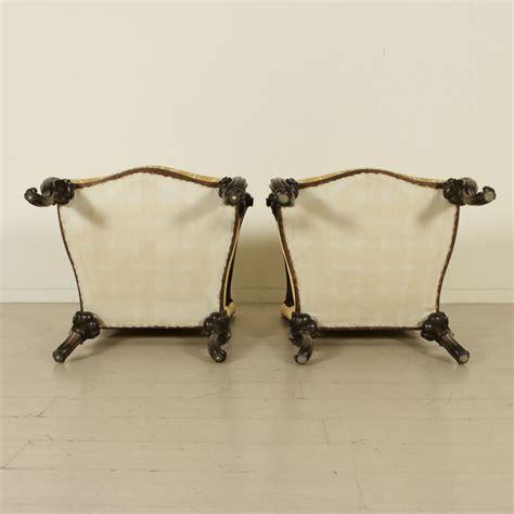 poltrone in stile divano e due poltrone in stile mobili in stile bottega
