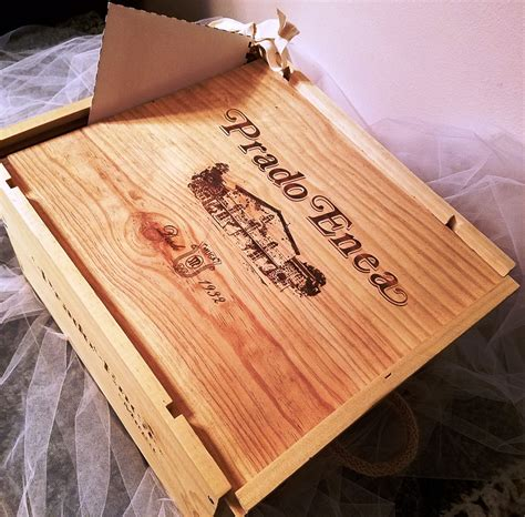 Wedding Wine Box Time Capsule by Wedding Card Box Time Capsule From Wood Wine Crate