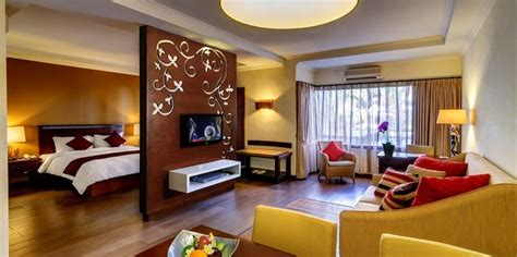 hotel suite with in room suite room rooms the vira bali hotel kuta bali indonesia