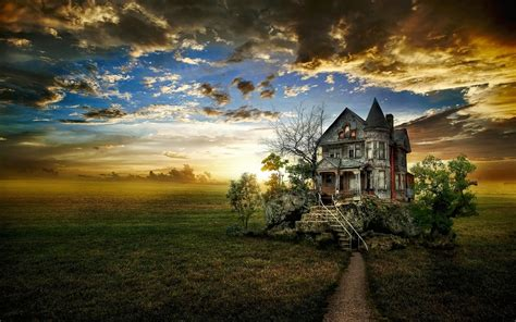 house of quirky unusual photo of an abandoned house hd desktop wallpaper hd desktop wallpaper