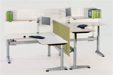 Classic Range Of Office Desks From Office Domain Desk Height Adjusters