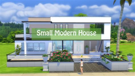 Modernhouse by Sims 4 House Building Small Modern House Luxury House
