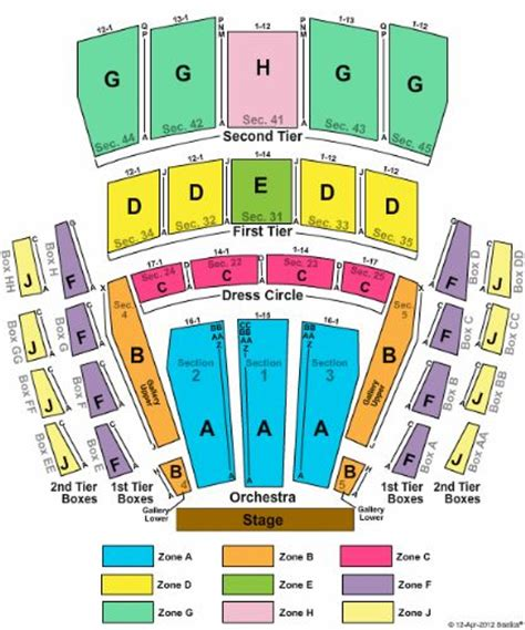 Radio City Music Hall Floor Plan by Mccaw Hall Tickets And Mccaw Hall Seating Chart Buy