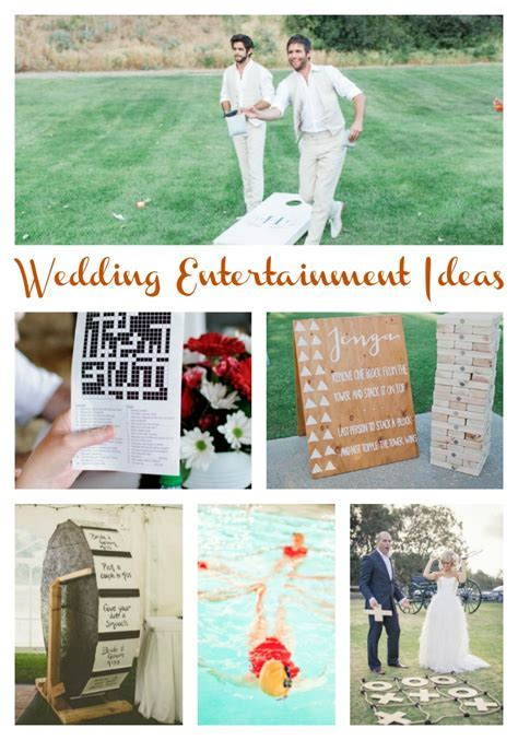 20 Wedding Games and Entertainment Ideas   Aisle Perfect
