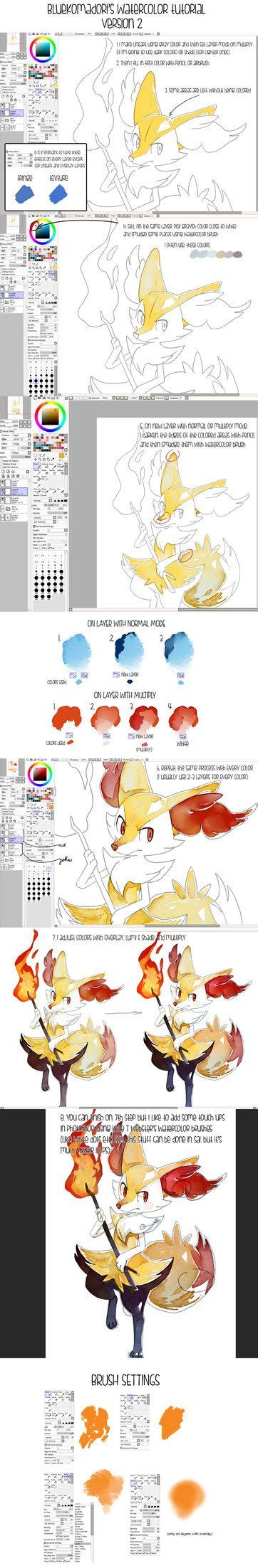 78 best images about paint tool sai brushes on watercolors paint tool sai and brushes
