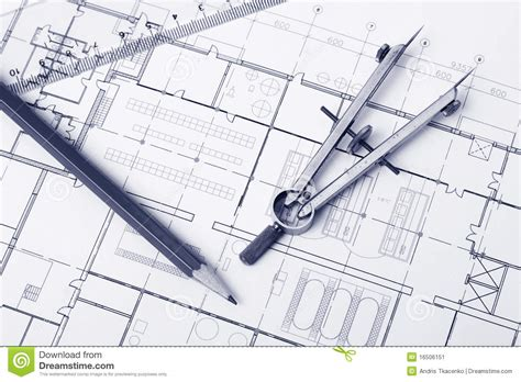 design blueprints blueprint background stock image image 16506151