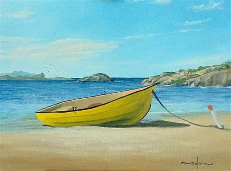 boat paint pictures online art class how to paint a boat on the beach