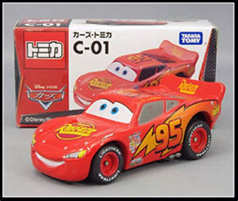 Takara Tomy Tomica Disney Cars C 31 Lightning Mcqueen Rescue Go Sni tomica disney c 01 cars lightning mcqueen new takara tomy