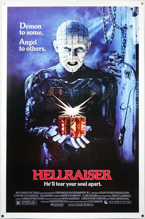 Poster One 06 1 hellraiser one sheet usa