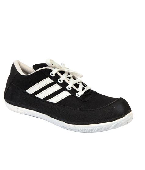 running canvas shoes aaron black canvas running sport shoes price in india buy