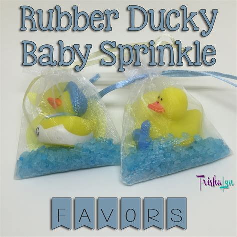 Rubber Ducky Baby Shower Favors by Rubber Ducky Baby Shower The Favors Trishalyn